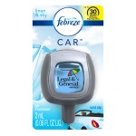 Logo Imprinted Febreze CAR Vent Clip, Linen & Sky scent, Standard