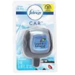 Febreze CAR Vent Clip, Linen & Sky scent, Clamshell Upgrade Logo Imprinted