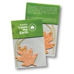 Logo Imprinted Organically Scented and Seeded Air Freshener