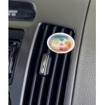 Custom Printed Oval Vivid Vent Air Freshener