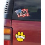 Custom Imprinted Decals & Stickers (123-143 Square Inches)