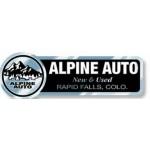 "White Reflective Auto Ad Decal (5.791""x 1.912"") Custom Printed"