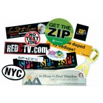 "Stik-Withit Bumper Sticker (3 3/4""x7 1/2"") Custom Imprinted"