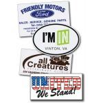 Logo Imprinted Bumper Stickers