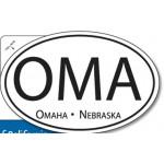 "4-Color Process Oval Bumper Stickers (4""x6"") Custom Imprinted"