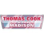 """Domed Auto Ad Decal (5.701""""x 1.873"""") Logo Imprinted"""