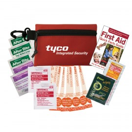 Promotional auto first aid kits,custom imprinted auto safety