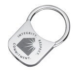 Custom Imprinted Keyholder Metal Keytag