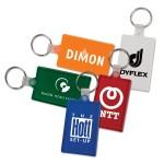 Custom Imprinted Rectangle Key Tag