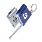 Custom Imprinted Tape Measure/Flashlight Key Tag