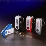 Custom Printed Key Chain USB Car Adaptor