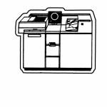 Copier Key Tag - Spot Color Custom Imprinted