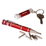 Keylight and Screwdriver Set - Red Logo Imprinted