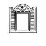 Window Key Tag - Spot Color Logo Imprinted