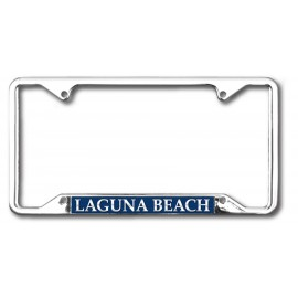 Promotional license plate frames,custom imprinted license