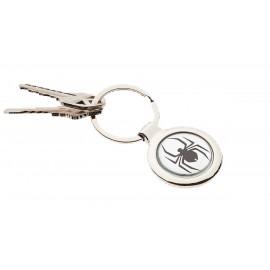 Dome Key Chain Circle Custom Imprinted