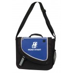Logo Imprinted Motion Messenger Bag