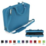 Logo Printed Laurige Small Laptop Briefcase