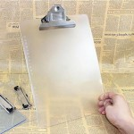 Promotional Plastic Transparent Clipboard for A4 Paper