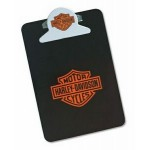 Custom Imprinted Letter Size Clipboard w/ Round Shaped Clip