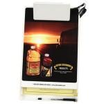 Personalized Letter Size Clipboard w/ Storage Box & Light Clip