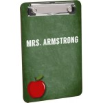 Personalized Full Color Flat Clip Clipboard 6 x 9""
