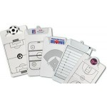 Promotional Letter Size Clipboard w/ Stock Sports Field Imprint