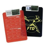 Promotional Letter Size Clipboard w/Dual Power Calculator Clip