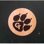 """3.5"""" - Printed Wood Stickers - USA-Made Branded"""