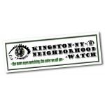 "Custom Imprinted Rectangle Digi Vinyl Bumper Stickers (3""x10 1/2"")"