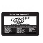 "Custom Imprinted Zero Waste Rectangle Roll Stickers (1.75""x2.75"")"