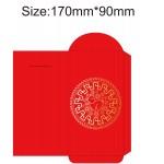 Logo Printed Kaleidoscope Chinese Lunar Year Red Envelope