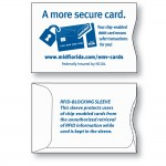 Branded PaperTyger RFID Custom Credit Card Sleeve