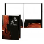 "Presentation Folder w/ Reinforced Edges & 2 Pockets (9 1/2""x12 1/2"") 4/0 Custom Imprinted"