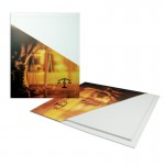 """Branded Conformer Capacity Page Capacity (9 1/2""""x12"""") with Foil Stamped Imprint"""