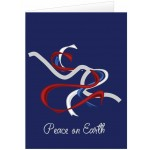 Custom Imprinted Peace on Earth Holiday Greeting Card