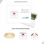 Logo Printed Holiday Blues & Jazz Music Download in Greeting Card