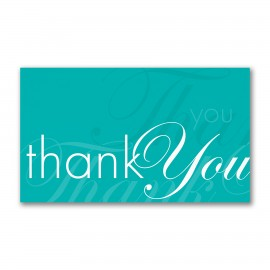 Sentiments Echoed Thank You Card Branded