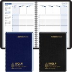 Custom Imprinted 2020 Column-Style Weekly, Wired Desk Planner