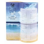 Logo Printed Beach Wave Calendar