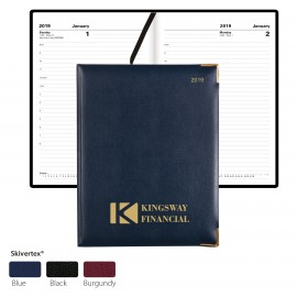 Custom Imprinted Classic Desk Planner by Letts - Week-To-View