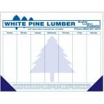 Custom Imprinted 40 Sheet Deluxe Desktop Pad w/ Bottom Calendar