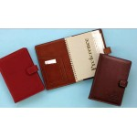Business Leather Spiral Bound Planner Custom Printed