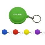 Cord Organizer Earphone Wrap with Keychain Custom Imprinted