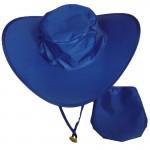 Logo Printed Foldable Cowboy Hats w/Pouch