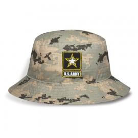 fad798defd1 Cotton Ripstop Digital Camo Bucket Hat Branded
