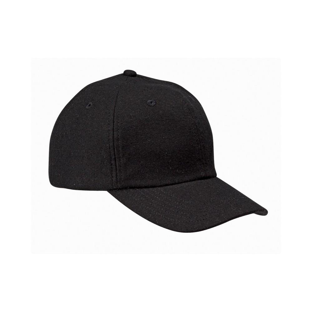 Big Accessories Wool Baseball Cap Logo Embroidered