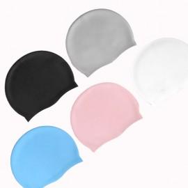 Custom Imprinted Super Elastic Silicone Swimming Cap