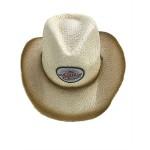 Cowboy Straw Hat Logo Printed