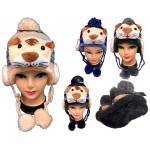 Kid Knitted Winter Hat Tiger Custom Imprinted